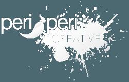 Peri Peri Creative - logo - white with transparent Creative (251x160)