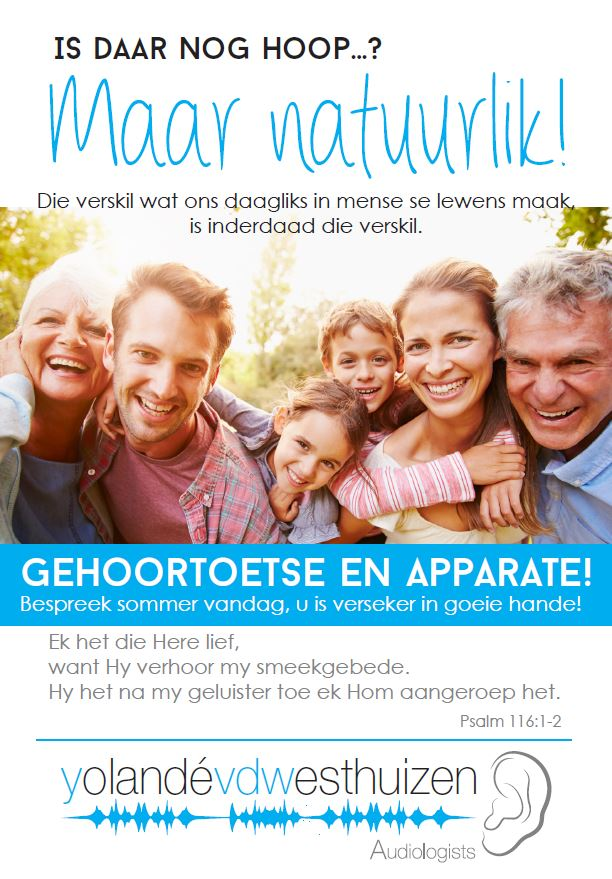 Peri Peri Creative-Yolande van der Westhuizen Audiologists-church flyer