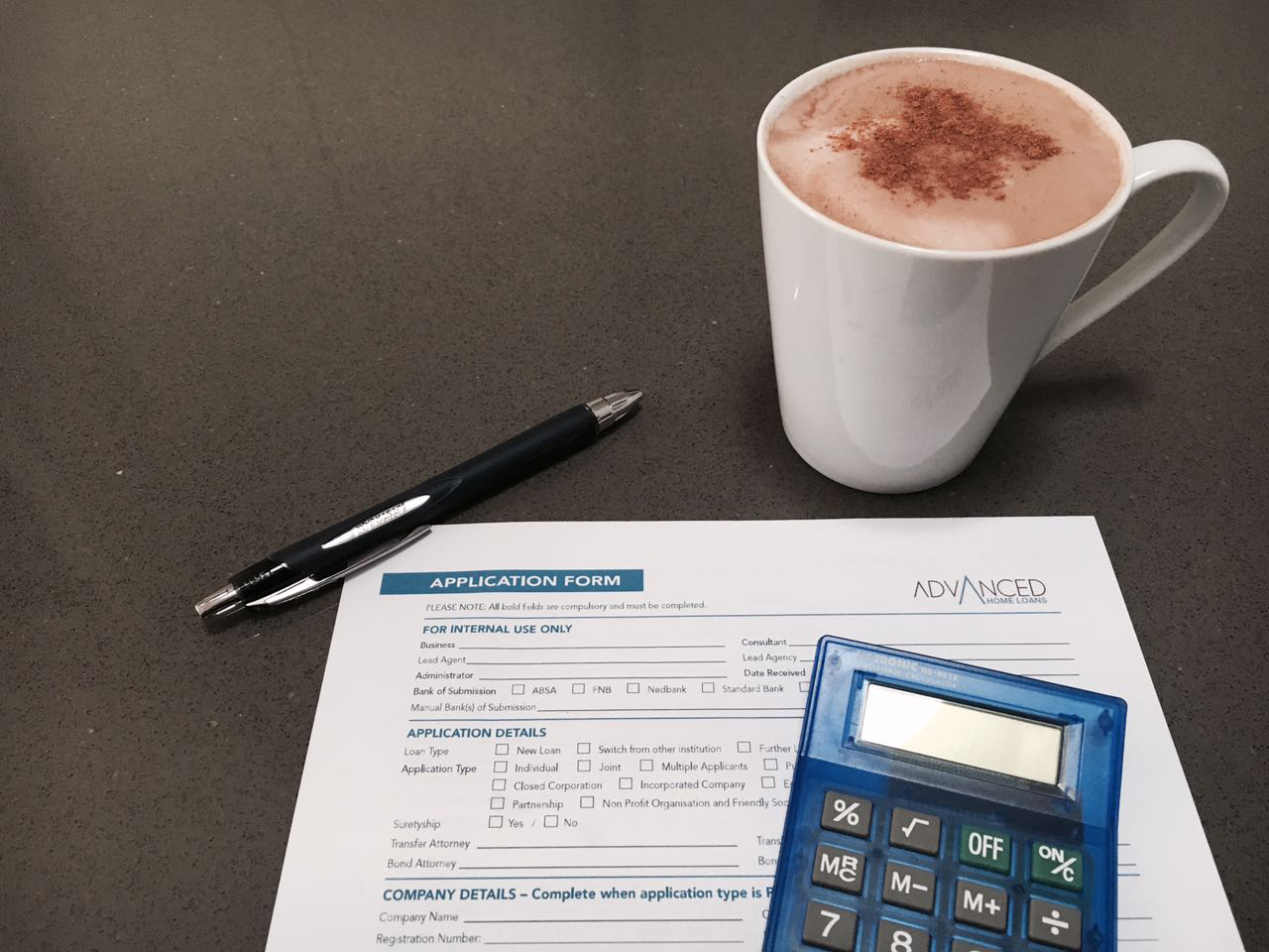 Advanced Home Loans - Coffee & Calc