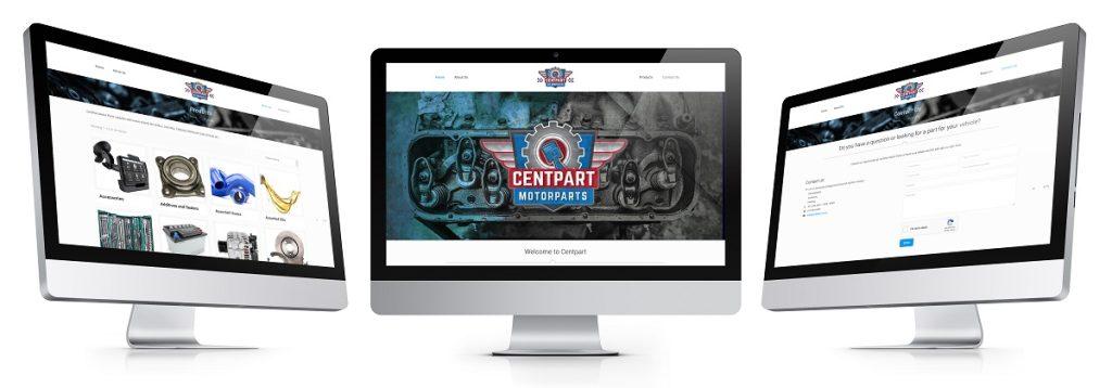 Peri Peri Creative-CentPart Motor Parts-Website